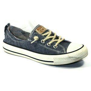 Converse Womens Denim Shoreline Blue Sneakers 8